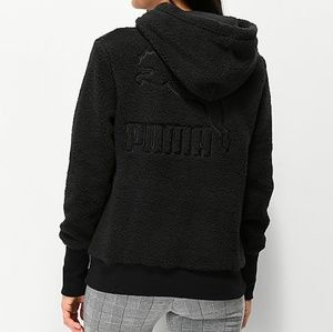 Puma sherpa hoodie